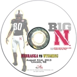 2013 Nebraska vs Wyoming DVD