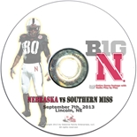 2013 Nebraska vs Southern Miss DVD