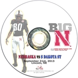 2013 Nebraska vs S Dakota St DVD