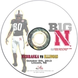 2013 Nebraska vs Illinois DVD