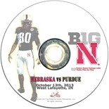 2013 Nebraska vs Purdue DVD