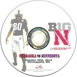 2013 Nebraska vs Minnesota DVD