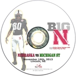 2013 Nebraska vs Michigan State DVD