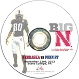 2013 Nebraska vs Penn State DVD