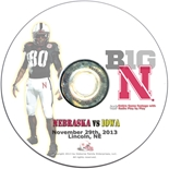 2013 Nebraska vs Iowa DVD