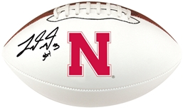 Taylor Martinez Autographed Football