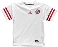 Youth Adidas White Customized Jersey