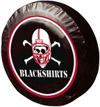Blackshirts Tire Cover